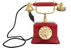 One Kings Lane - Vintage, Antique & Unique - 1920s Ericsson Desk Phone, Red >> Love this phone, so beautiful too.