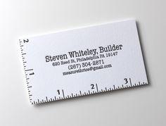 Letterpres business cards