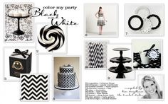 #black and white party