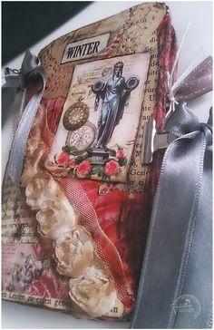 Vintage Notizbuch von Soulwings-Handmade with ♥ auf DaWanda.com