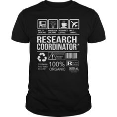 Awesome Research Coordinator T-Shirt, Hoodie Research Coordinator