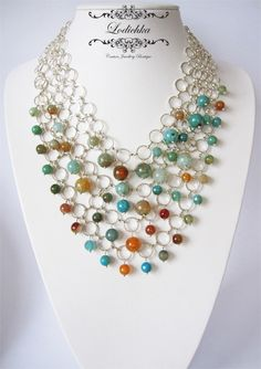 Inspiration...in hopes of inspiring myself to start beading & making jewelry...Inspiration!