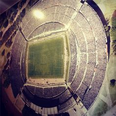 Football fans will love this. The 1st stadium to host the FIFA Worldcup 1930, The Centenario, Montevideo.