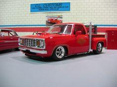 1978 Hemi Dodge Little Red Express