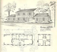 Visit the post for more. Vintage House Plans, Modern House Plans, House Floor Plans, Vintage Homes, Mansion Plans, Urban Outfitters, Architecture Plan, Business Architecture, Vintage Architecture