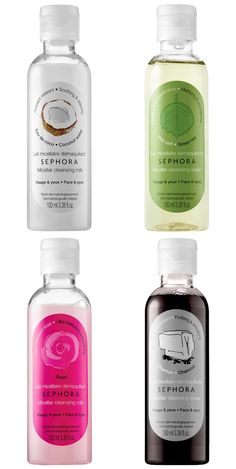 Sephora Micellar Cleansing Water & Milk Are Formulated For a Variety of Skin Types