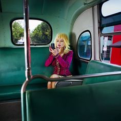 """Gillian Laub 2008, """"I photographed Dolly Parton in Los Angeles in September 2008. I was about to get married, and I knew she had been married for decades, so I asked her what the secret was to a long-lasting marriage. She answered with a laugh and without a moment's hesitation said succinctly, 'Travel a lot and not together!'"""""""