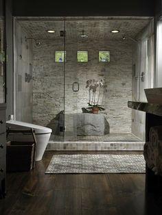 Ooooh, I'm likin' this shower set up.