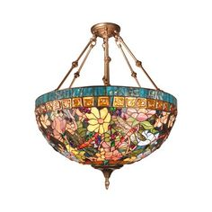 Tiffany ceiling light