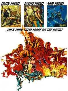 Frank McCarthy-the best movie poster artist of all time.