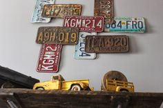 Namely Original: Boy's Vintage Car Bedroom