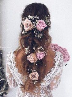 Ulyana Aster Wedding Hairstyle Inspiration #weddinghairstyles