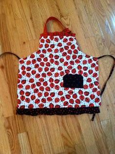 Looking for your next project? You're going to love Fat Quarter Child's Reversible Apron by designer Eight Hands .