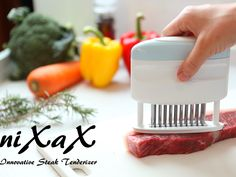 niXaX is a brand new steak tenderizer designed to improve the steak's quality and taste and is a perfect gadget to have around your kitchen. THE UT.LAB | Supports Cool Kickstarter Projects *