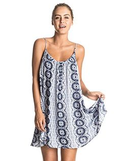 Listed Price: $44.00 Sale Price: $39.60 Cover-up dress for women from Roxy. Features include: loose fit round neckline and fine…