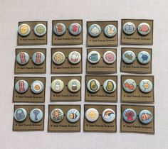 Best Friends Button Set (Choose One)