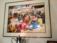 Wonderful watercolor by my friend Miquel Aymerich.