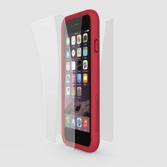 Rhino Shield Crash Guard Bundle for iPhone 6 / 6s  - red