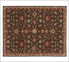 Sydney Persian-Style Rug #potterybarn    This would look great in my dining room