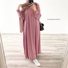 Hijab Style Dress, Modest Fashion Hijab, Modesty Fashion, Muslim Fashion, Abaya Fashion, Fashion Outfits, Stylish Hijab, Hijab Chic, Mode Abaya