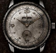 Vintage Breitling Watch #TBT