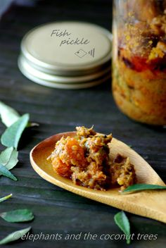 elephants and the coconut trees: Fish pickle / Meen achar - Kerala style / Spicy pickled Cod