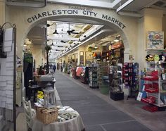 The Charleston City Market is famous for selling beautiful paintings, pottery, and Charleston's famous sweetgrass baskets. Stop by today to see the vendors at work!