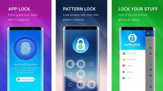 The fingerprint has successfully taken over the smartphone world. It's now the easiest way to unlock Android phone and it's Apps. If you've got an Android App Lock Pattern, Fingerprint App Lock, Best App Lock, Hide Folder, Lock Apps, Iris Scanner, Design Home App, Huawei Phones, Social Media Apps