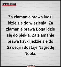 Bezuzyteczna.pl | Codzienna dawka wiedzy bezuzytecznej Good Advice, A Funny, Memes, Everything, Haha, Comedy, Entertaining, Humor, My Love