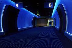 Medusa Cinema Bologna | Project by Aldo #Cibic & Partners; Light Designer Aldo #Cibic e Marco #Pollice