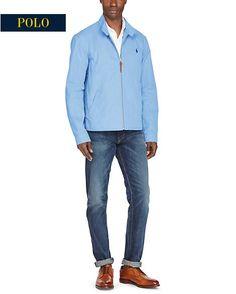 Veste hydrofuge en sergé Ralph Lauren - Veste Homme Ralph Lauren -  Ventes-pas-cher.com 6425d4581614
