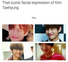 THIS NEVER FAILS TO MAKE ME SMILE HAHAHAHAHA AAAH TAEHYUNG //V *