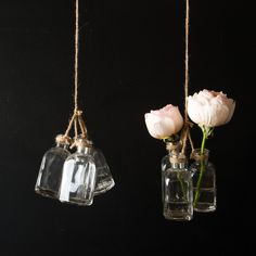 Hanging vase trio- Joanna Gaines shop! I want this in my kitchen!