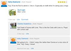 The Debate: Corona with Lime vs. Bud Light Lime. Which team are YOU on? #beer