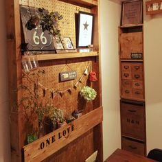 kouono07さんの、収納,有孔ボード,雑貨,フォトフレーム,DIY,フェイクグリーン,いなさうるす屋さん,ディアウォール,壁/天井,のお部屋写真