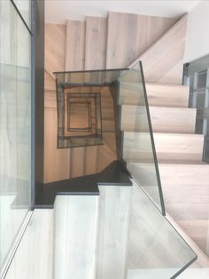 Completed staircase Stairs, Glass, Home Decor, Stairway, Decoration Home, Drinkware, Room Decor, Corning Glass, Staircases