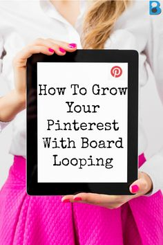 grow your pinterest with board looping on BoardBooster