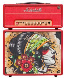 #Marshall Custom Tattoo Vicky Morgan #Stack JVM-1H 1W #Tube #Guitar Head and 1x10 Cab #Amp https://twitter.com/ShoppingJul/status/719803365807562752