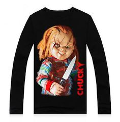 Seed-Of-Chucky-T-shirt-Horror-Movie-Collectible-Fashion-T-shirt-S-M-L-XL-XXL-New