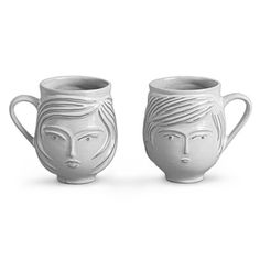 boy / girl mug set