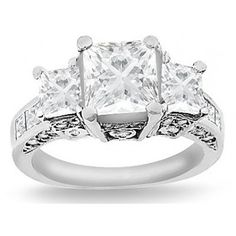 Womens Diamond #Ring 1.85ct  #accessories http://to.faearch.me/1KjQKhu