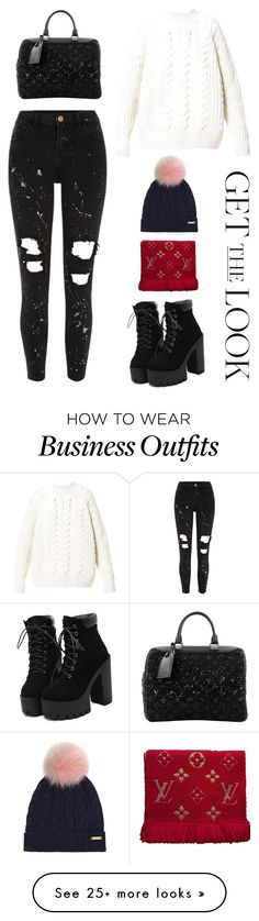 """""""Get the look - work wear"""" by elena-balestri on Polyvore featuring River Island, Diesel, Louis Vuitton and Burberry"""
