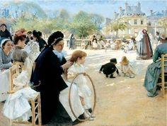 Art et glam: Peintre : Albert Edelfelt, un des peintres majeurs de la peinture…
