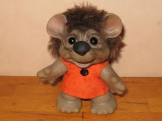 Image detail for -Dam Animal Trolls Dam Mouse Troll – World of Troll Dolls