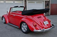 1963 VW Bug Convertible Vw Cars, Audi Cars, Volkswagen Convertible, Vw Cabriolet, Vw Racing, Vw Super Beetle, Hot Vw, Vw Vintage, Old School Cars
