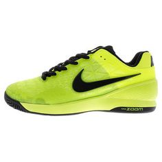 The high performance Nike Men's Zoom Cage 2 Tennis Shoe in striking new aesthetic!
