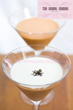 Thai Milk Tea Pudding Thai Milk Tea, Thai Recipes, Glass Of Milk, Pudding, Asian, Treats, Dishes, Desserts, Postres