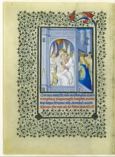 The Belles Heures of Jean de France, Duc de Berry, illuminator: 1405–1408/1409, Herman, Paul and Jean de Limbourg (1399–1416)