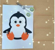 Crafts,Actvities and Worksheets for Preschool,Toddler and Kindergarten.Lots of worksheets and coloring pages. Winter Crafts For Kids, Crafts For Kids To Make, Make And Sell, Kids Crafts, Valentine Day Crafts, Valentines, Penguin Craft, Kids Videos, Cool Diy Projects