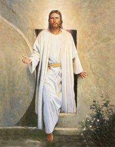 The resurrection of Jesus finished the job which the cross started. I intend to show here the importance of Jesus' resurrection and what it can mean in our lives. Images Bible, Image Jesus, Pictures Of Christ, Church Pictures, Lds Pictures, Jesus Wallpaper, Jesus Christus, Lds Art, Angels